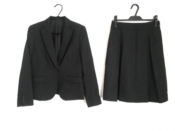 NEW YORKER(ニューヨーカー) スカートスーツ サイズ11AR M レディース 黒