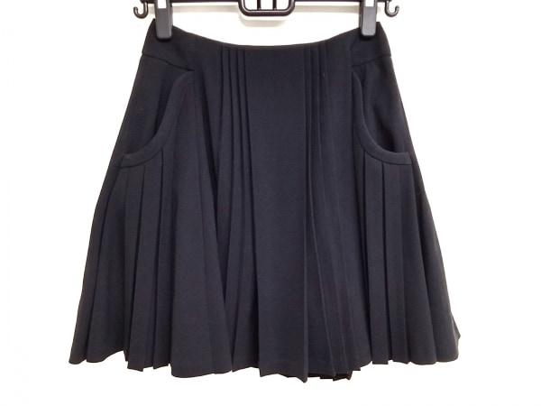 mame(マメ) ミニスカート サイズ1 S レディース美品  黒