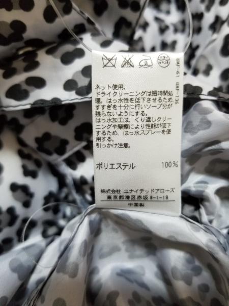 ユナイテッドアローズ ブルゾン レディース美品  黒×ライトグレー×グレー