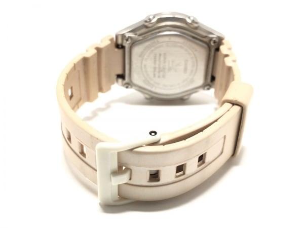 カシオ 腕時計 ウェーブセプター LWA-M160 レディース ラバーベルト ライトグレー