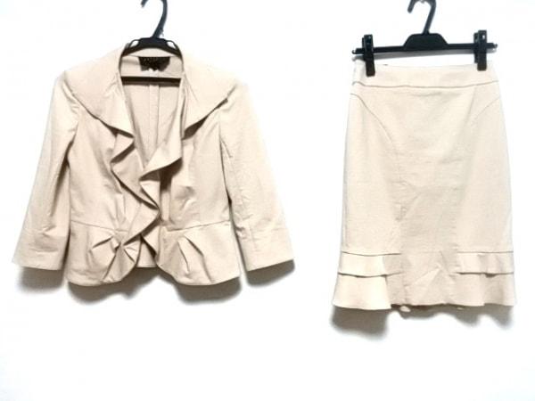 MATERIA(マテリア) スカートスーツ レディース ベージュ フリル