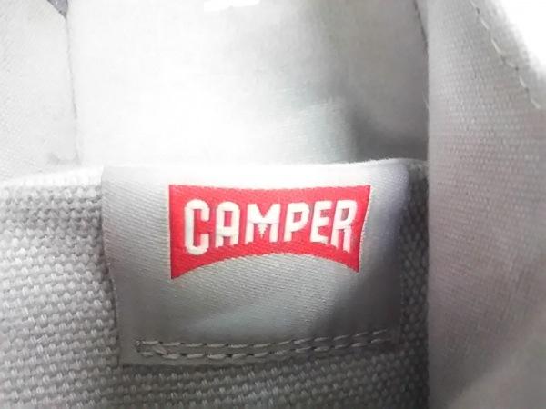 カンペール スニーカー 39 レディース ライトグレー キャンバス 5