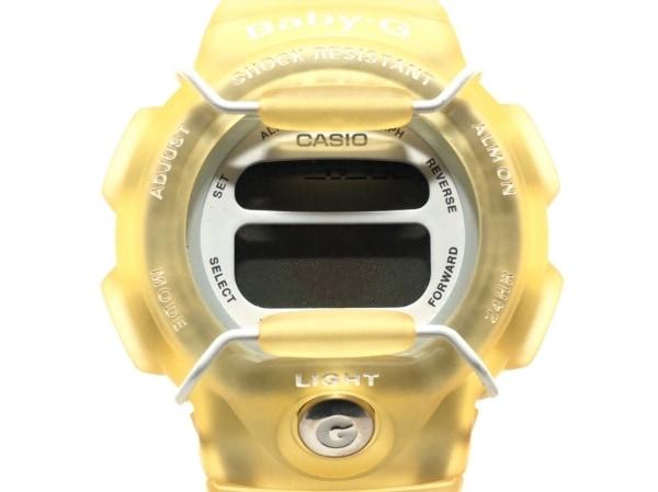 CASIO(カシオ) 腕時計 Baby-G BG-350 レディース ラバーベルト/The Disne Store 白