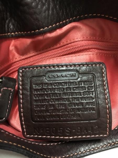 COACH(コーチ) ショルダーバッグ美品  チェルシースリムヒッピー 8A42 レザー