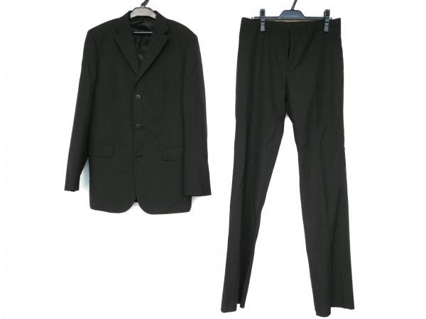 COMME CA ISM(コムサイズム) シングルスーツ サイズL メンズ新品同様  黒 シングル