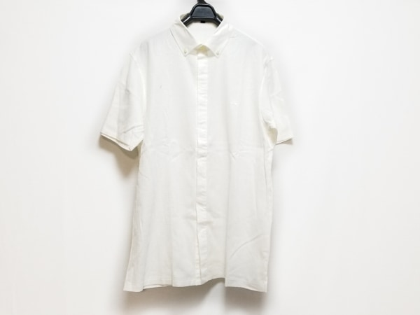 Burberry LONDON(バーバリーロンドン) 半袖シャツ サイズL メンズ 白
