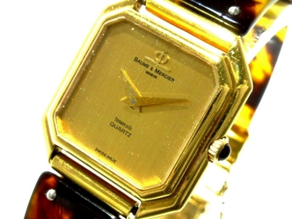 BAUME&MERCIER(ボーム&メルシエ) 腕時計 1002716 レディース ゴールド