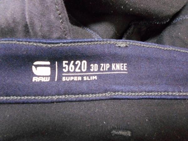 G-STAR RAW(ジースターロゥ) パンツ サイズ32 S レディース ダークネイビー