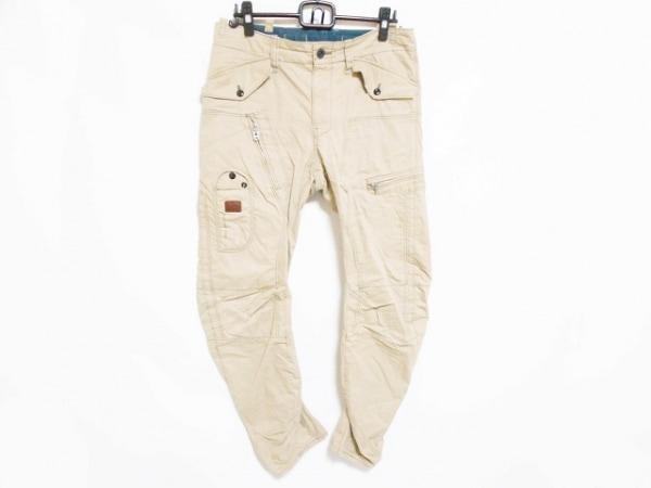 G-STAR RAW(ジースターロゥ) パンツ サイズ32 XS メンズ美品  ライトブラウン