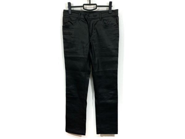 アレキサンダーマックイーン パンツ サイズ1 S メンズ美品  黒 クロス
