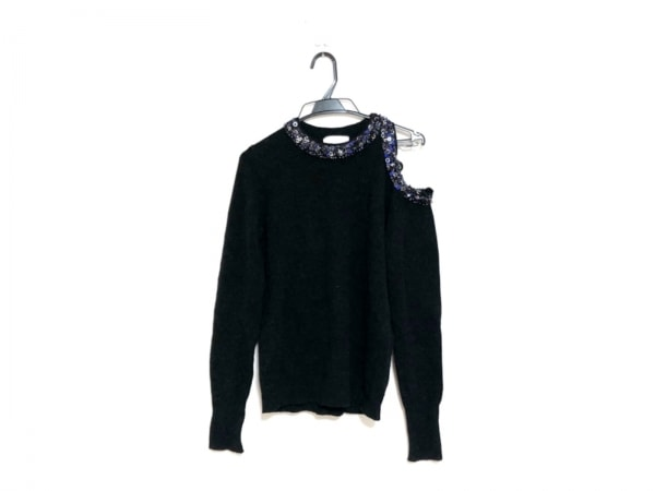 スリーワンフィリップリム 長袖セーター サイズXS レディース美品  黒