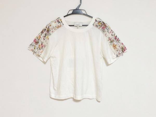 スリーワンフィリップリム 半袖Tシャツ サイズS レディース 花柄/ファスナー装飾