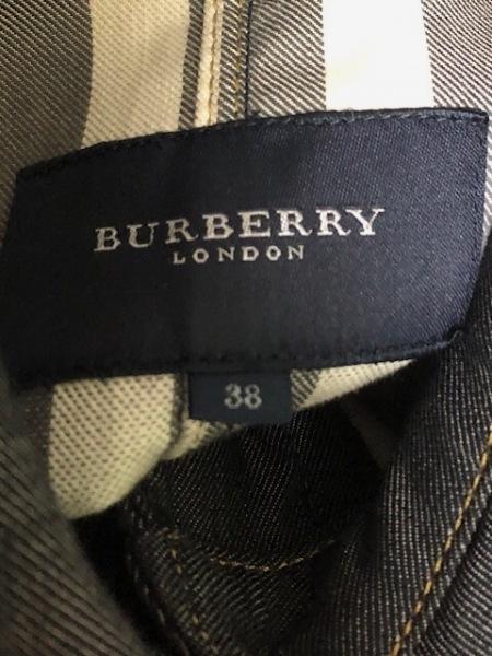 バーバリーロンドン ジャケット サイズ38 L レディース美品  ネイビー デニム