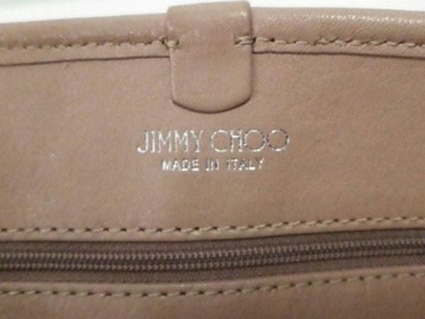 JIMMY CHOO(ジミーチュウ) トートバッグ サシャS ベージュ スター/スタッズ レザー
