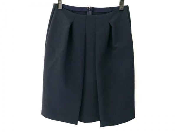 レキップ ヨシエイナバ スカート サイズ38 M レディース美品  ネイビー