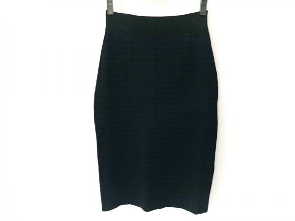 theory luxe(セオリーリュクス) スカート サイズ40 M レディース美品  黒×ネイビー