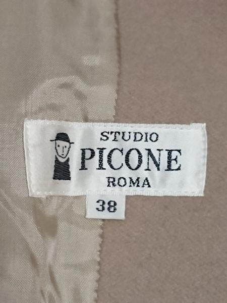 PICONE(ピッコーネ) ジャケット サイズ38 S レディース ベージュ 3