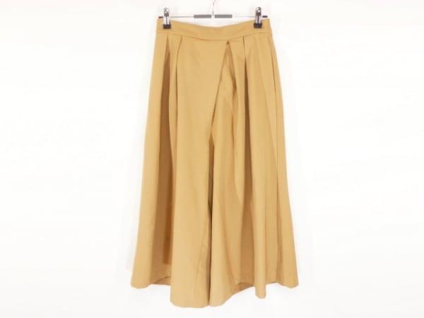 パラスパレス トオカ パンツ サイズF レディース美品  ライトブラウン