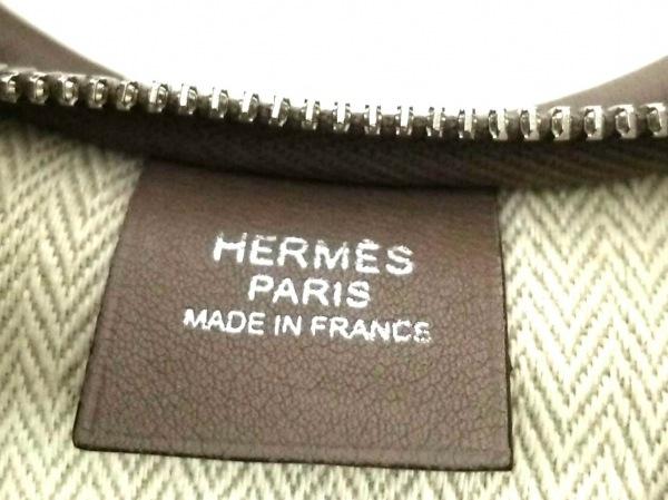 HERMES(エルメス) ショルダーバッグ マサイ ベージュ レザー 7