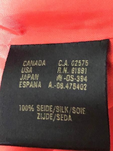 ESCADA(エスカーダ) ジャケット レディース オレンジ×ダークブラウン×マルチ