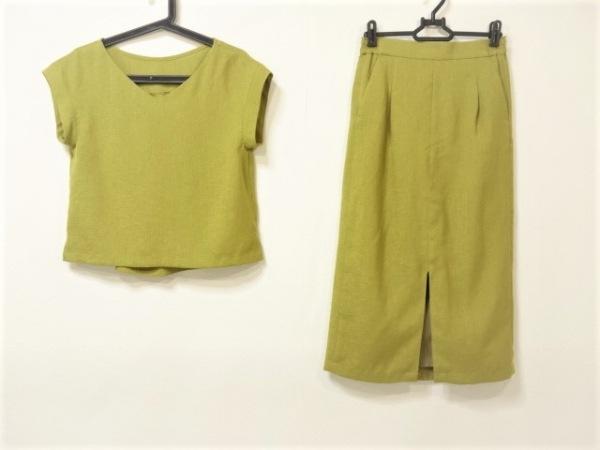 IENA SLOBE(イエナ スローブ) スカートセットアップ サイズ36 S レディース グリーン