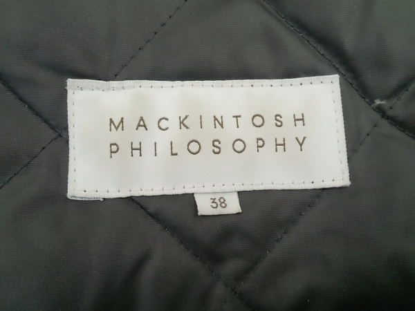 マッキントッシュフィロソフィー ダウンコート サイズ38 L レディース