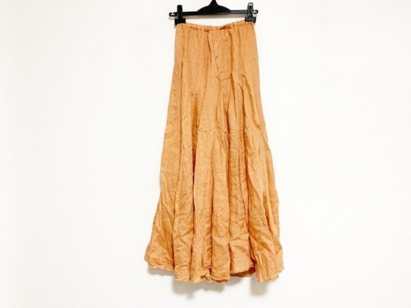 ロンハーマン ロングスカート サイズXS レディース美品  オレンジ CP SHADES