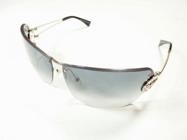 エンポリオアルマーニ サングラス EA9493 黒×シルバー プラスチック×金属素材