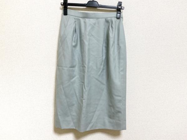 Burberry's(バーバリーズ) スカート サイズ7 S レディース美品  ライトブルー