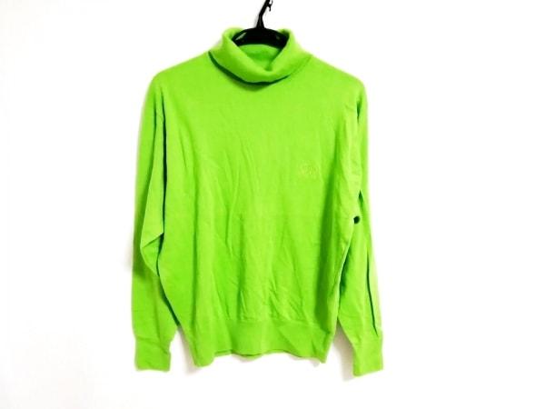 クリスチャンディオールスポーツ 長袖セーター サイズM メンズ ライトグリーン