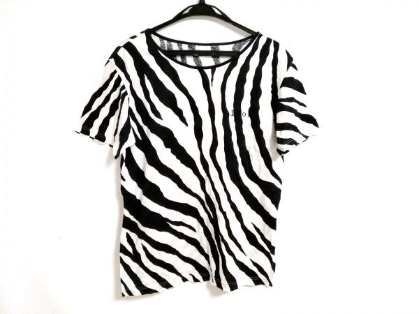 クリスチャンディオールスポーツ 半袖Tシャツ サイズL メンズ 白×黒
