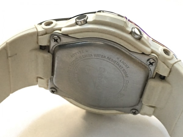 CASIO(カシオ) 腕時計 Baby-G BGA-116 レディース ラバーベルト シルバー