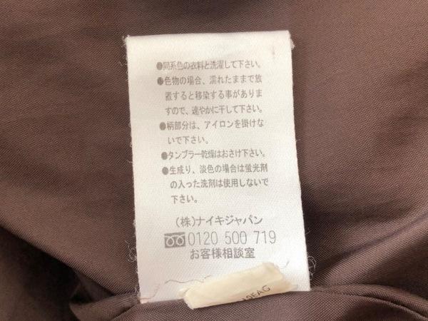 NIKE(ナイキ) ブルゾン サイズL メンズ美品  ダークブラウン 冬物