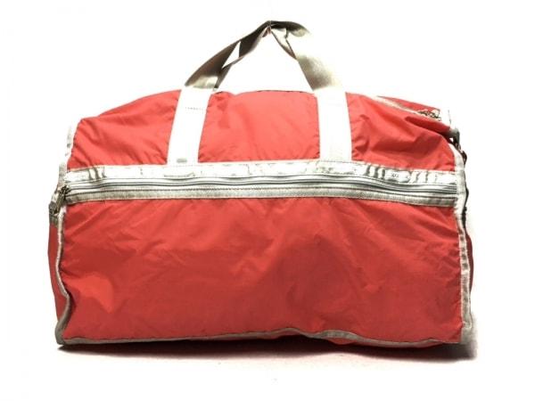 LESPORTSAC(レスポートサック) ボストンバッグ美品  ピンク×グレー レスポナイロン