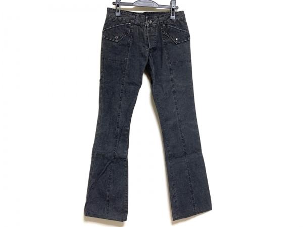 5351プールオム パンツ メンズ ダークグレー ダメージ加工/ボタンフライ