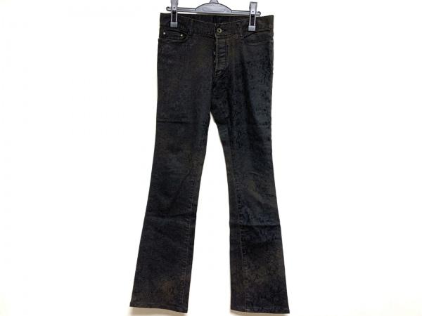 5351 PourLesHomme(5351プールオム) パンツ メンズ ダークグレー×黒 ボタンフライ