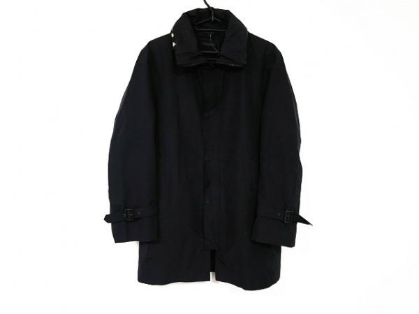DURBAN(ダーバン) コート サイズS メンズ 黒 冬物/フード収納式