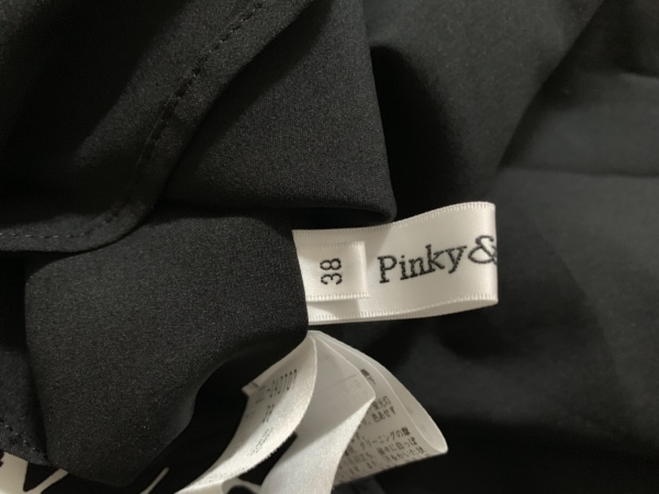 Pinky&Dianne(ピンキー&ダイアン) ワンピース サイズ38 M レディース美品  白×黒