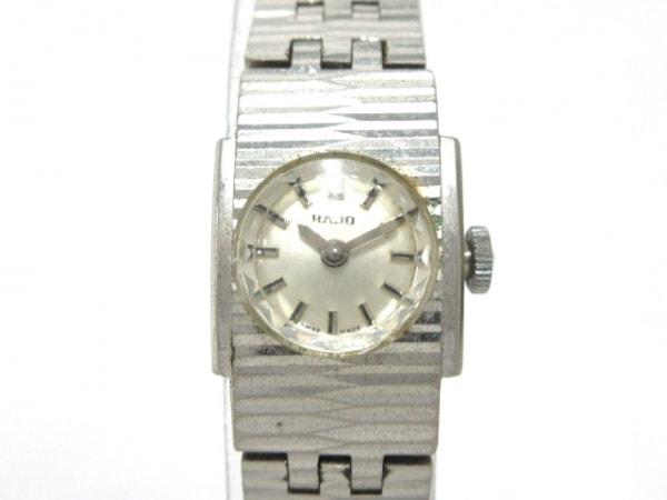 RADO(ラドー) 腕時計 レディース シルバー
