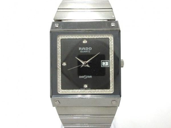 RADO(ラドー) 腕時計 ダイアスター 129.0194.3 レディース 黒