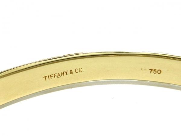 TIFFANY&Co.(ティファニー) バングル美品  アトラス K18YG