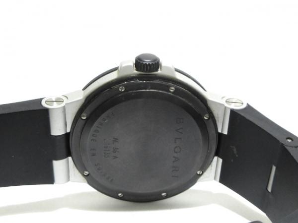 BVLGARI(ブルガリ) 腕時計 アルミニウム AL38A メンズ シルバー
