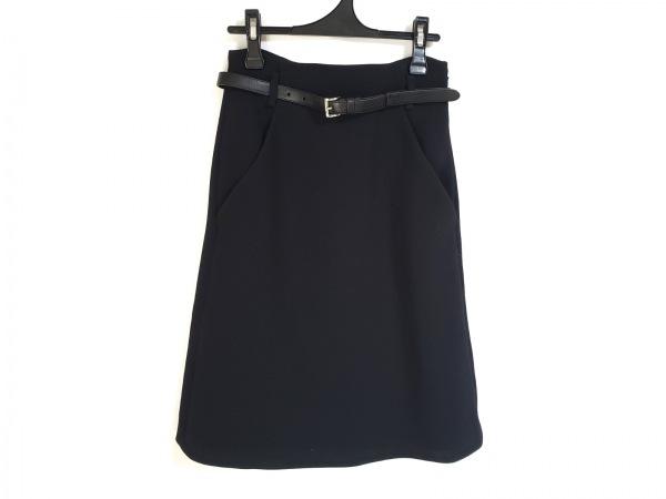 PRADA(プラダ) スカート サイズ38 S レディース美品  黒