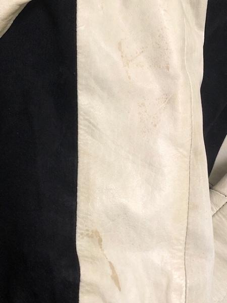 02DERIV.(ツーディライヴ) ブルゾン サイズ2 M レディース 黒×白 春・秋物/レザー