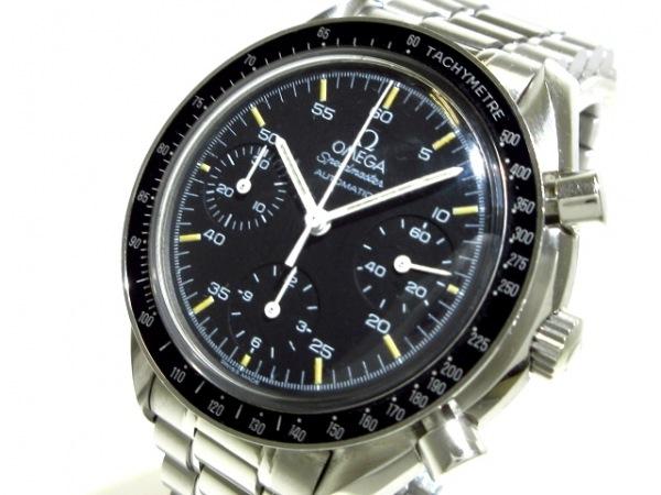 OMEGA(オメガ) 腕時計 スピードマスター 3510.50 メンズ SS/クロノグラフ 黒