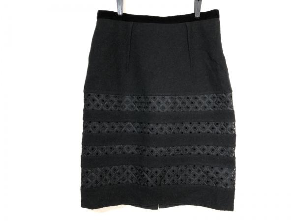 LANVIN COLLECTION(ランバンコレクション) スカート サイズ40 M レディース 黒