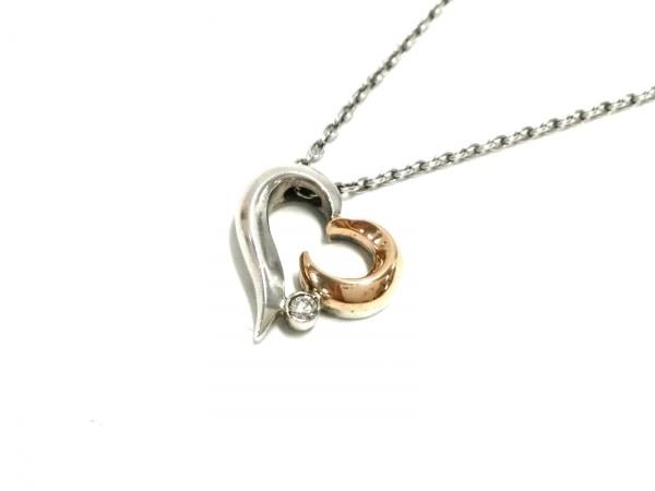 STAR JEWELRY(スタージュエリー) ネックレス美品  K10YG×シルバー×ダイヤモンド