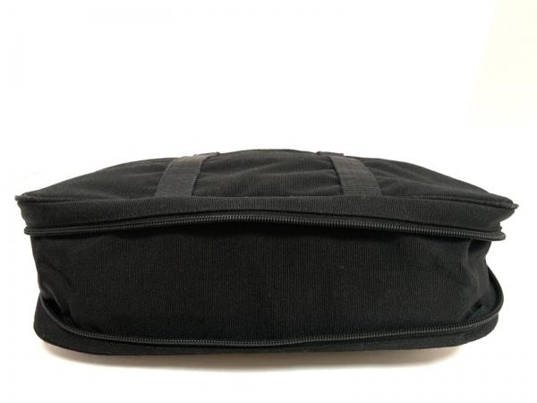 バーバリーロンドン ビジネスバッグ - 黒×ベージュ×マルチ 2way/本体ロックなし