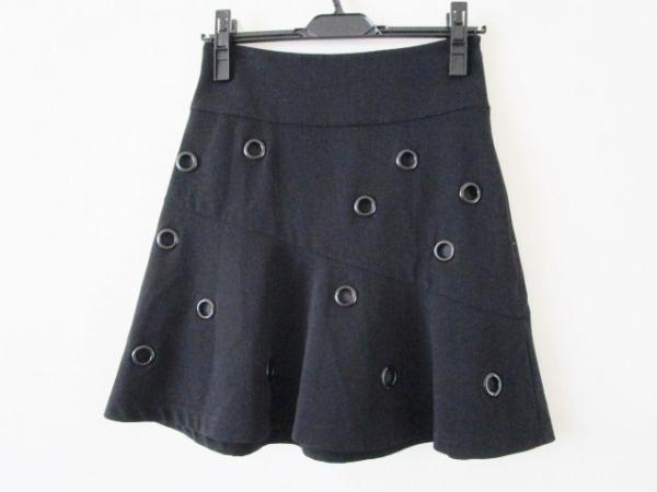 クラスロベルトカヴァリ スカート サイズ40(I) M レディース 黒