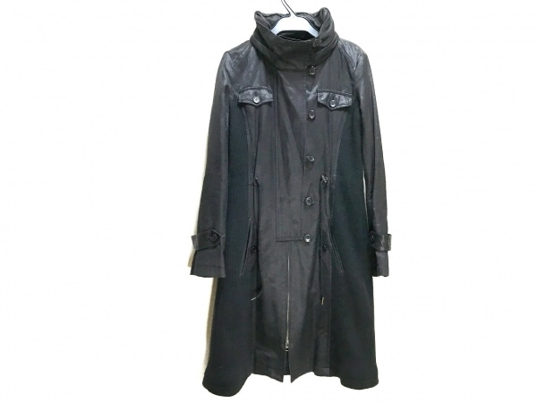 TORNADO MART(トルネードマート) コート サイズ38 M レディース 黒 春・秋物